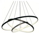LED ring triple - żyrandol 70cm - potrójny pierścień LED
